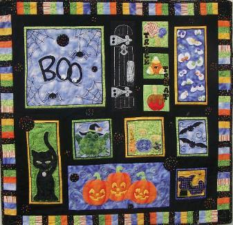 Halloween Scene by Chitter Chatter Designs