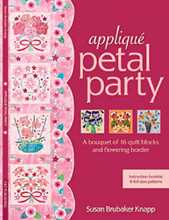 Appliqué Petal Party by Susan Brubaker Knapp