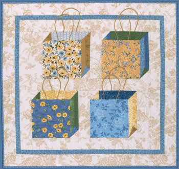 Shopping Bags II by Kay Mackenzie