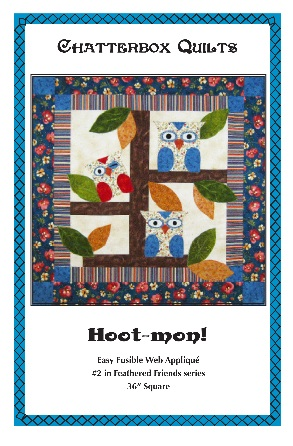 Hoot-mon pattern by Kim Jamieson-Hirst