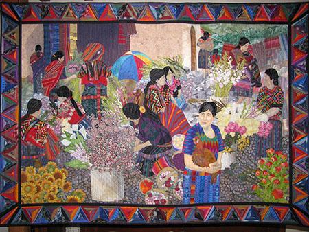 Flower Market, Chichicastenango, Guatemala by Meri Henriques Vahl
