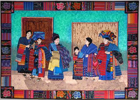 Las Mujeres Azules de Guatemala by Meri Henriques Vahl