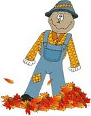 Fall Into Fall scarecrow