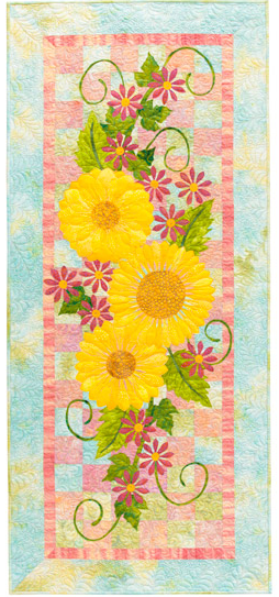 Summer Floral Table Runner