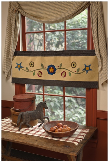 Pennies Window Valance