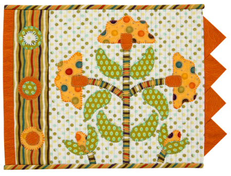 Floral Fiesta place mat. So cute!