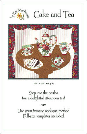 Teapot Quilt Applique Free Pattern - Free Patterns and